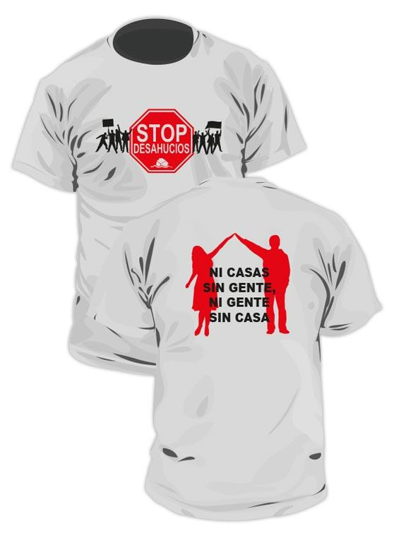 Camiseta Stop Desahucios 1